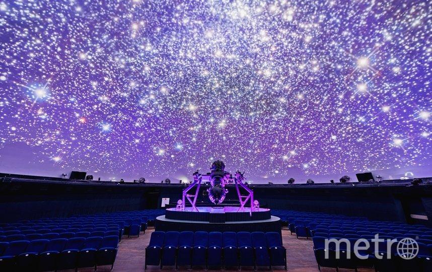 Космическое шоу (16+) в Петербургском планетарии стартует вечером. Фото Планетарий