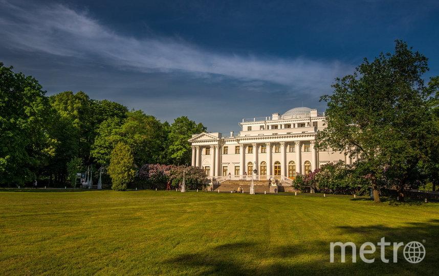 Елагин дворец. Фото https://elaginpark.org/central-park/gallery/