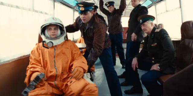 Гагарин. Первый в космосе.