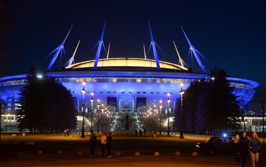 "Четвертая точка - стадион ""Газпром Арена"". Фото Святослав Акимов, ""Metro"""