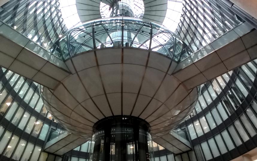 """Так выглядит купол изнутри. Фото Святослав Акимов, """"Metro"""""""