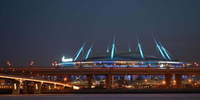 По задумке проекта стадион должен был выглядеть, как космический корабль.