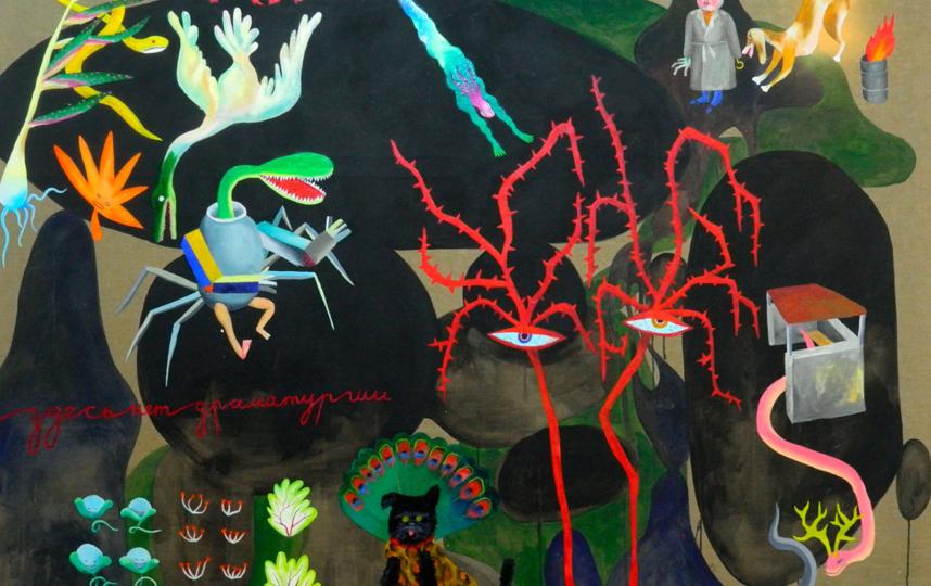Анна Андржиевская «Здесь нет драматургии», 2020. Фото Предоставлено Anna Nova Gallery