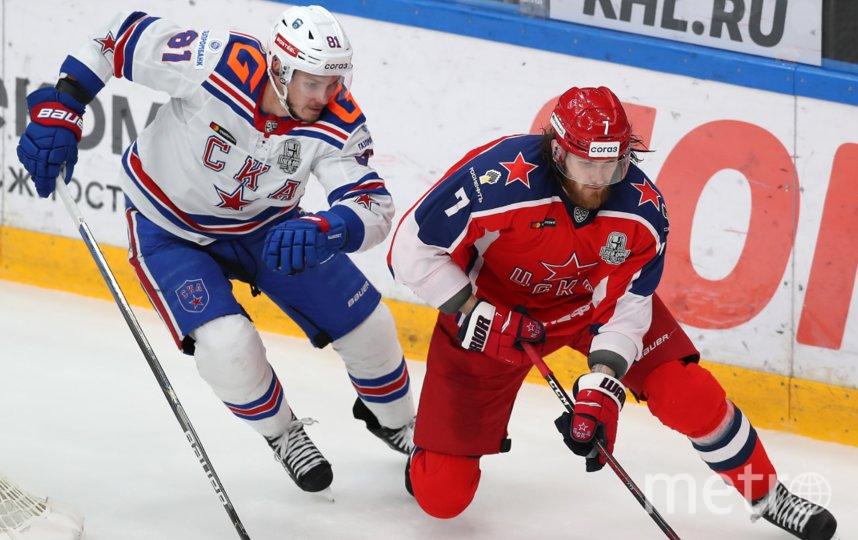 Встреча в Петербурге начнётся сегодня в 19:30. Фото PHOTO.KHL.RU, Кузьмин Юрий