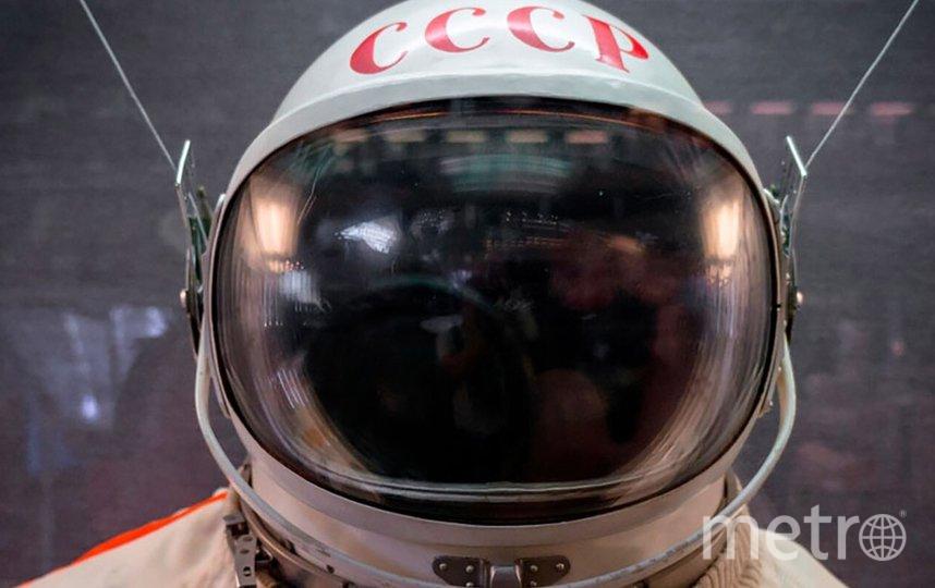 Выставка «Первый» приурочена к 60-летнему юбилею полёта в космос Юрия Алексеевича Гагарина. Фото mos.ru