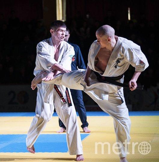 Вице-чемпион мира по карате шинкиокушинкай из Казахстана – Чех Виталий.