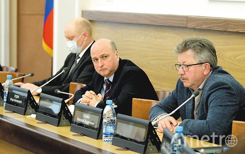 Диалог получился «горячим», по его итогу депутаты вынесли ряд рекомендаций. Фото пресс-служба Совета депутатов города Новосибирска