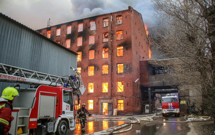 Пожару присвоили самый высокий номер сложности - №5. Фото МЧС России