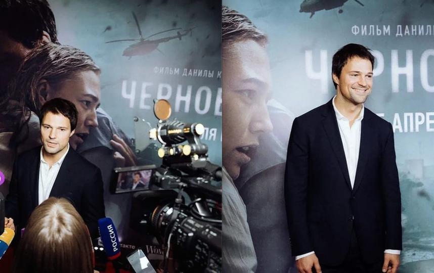 Данила Козловский на премьере в Петербурге. Фото скриншот Instagram @danilakozlovsky