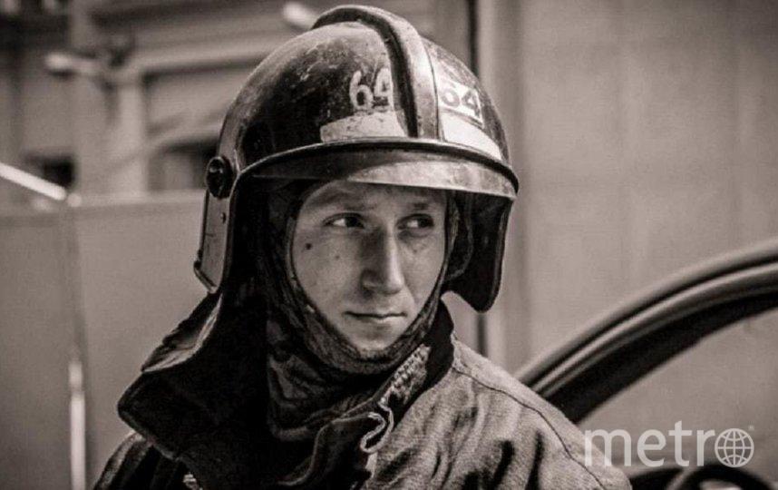 Илья Белецкий. Фото пресс-служба ГУ МЧС России по Петербургу.