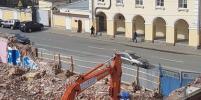 В Петербурге сносят историческое здание на Бакунина вопреки определению суда