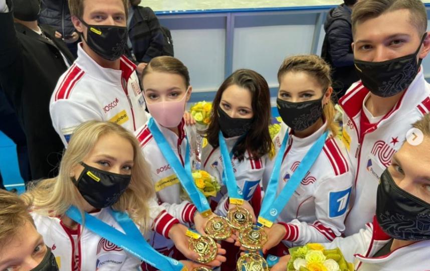Российские фигуристы впервые в истории выиграли этот турнир. Фото instagram.com/ruskating.