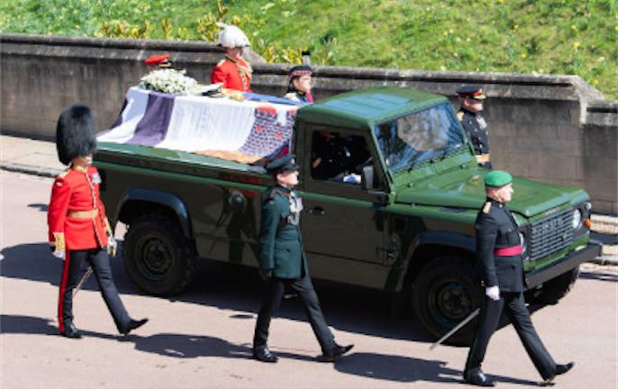 Похороны принца Филиппа состоялись 17 апреля 2021 года. Фото Getty