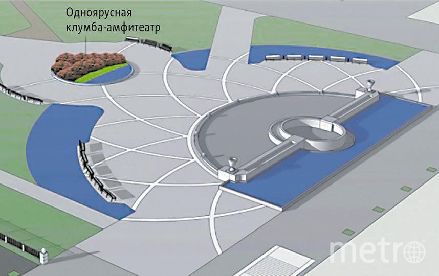 Форму фонтана сохранят, а вот вся техническая часть будет обновлена. Фото пресс-центр Мэрии Новосибирска