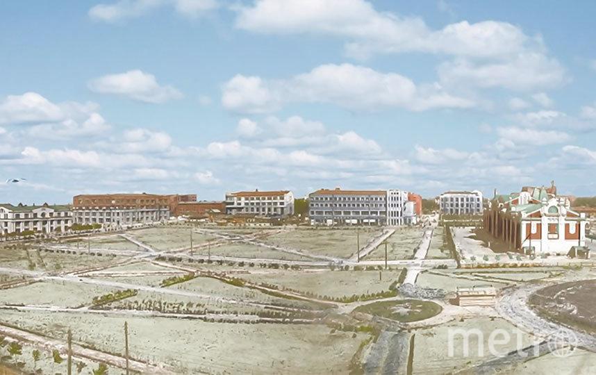 Так выглядел проект сквера, выполненный главным архитектором Новосибирска в 1930-х – Владимиром Тейтелем. Фото пресс-центр Мэрии Новосибирска