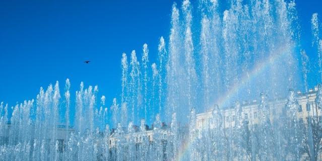 Сезон фонтанов в Петербурге стартует 24 апреля.