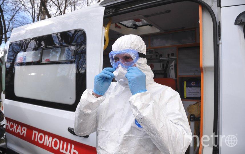 """Медики продолжают работать для москвичей во время пандемии. Фото АГН """"Москва""""/Александр Авилов"""