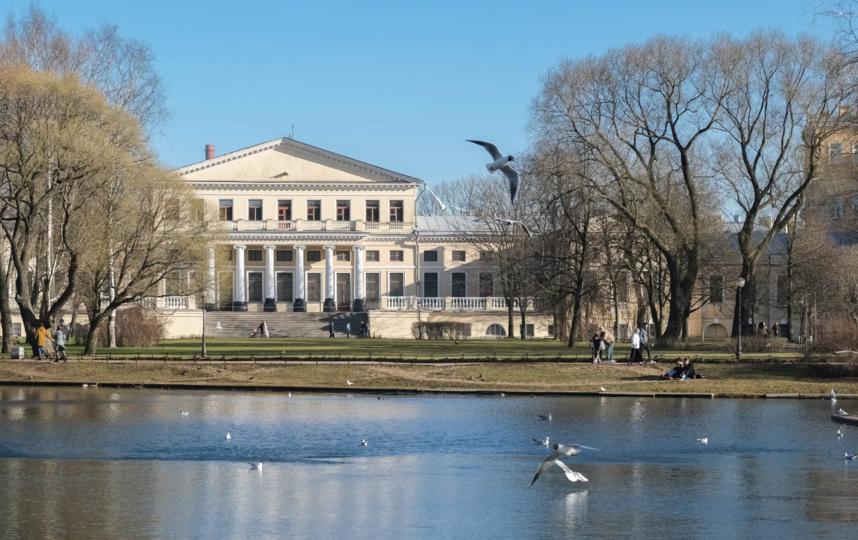 """Юсуповский сад мало изменился за последние 150 лет. Фото Алена Бобрович, """"Metro"""""""