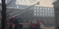 Стало известно о состоянии пострадавших при тушении пожара в Невской мануфактуре спасателей