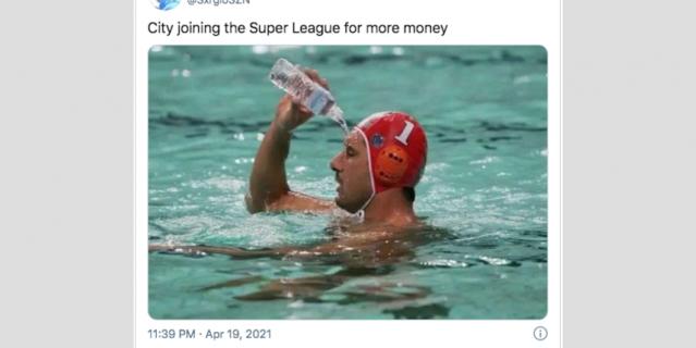 """""""МанСити"""" присоединяется к Суперлиге ради ещё больших денег"""". Клубу, которым владеют богатейшие арабские шейхи, мало нынешних доходов."""