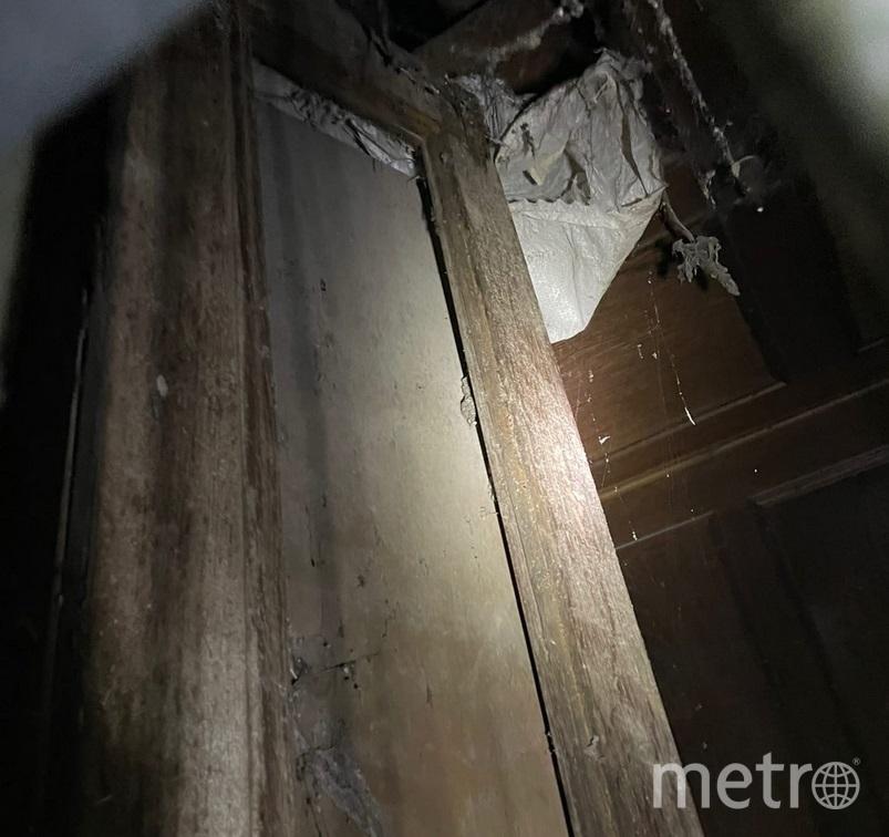 В доходном доме Полежаева нашли старинный лифт. Фото vk.com/mytndvor.