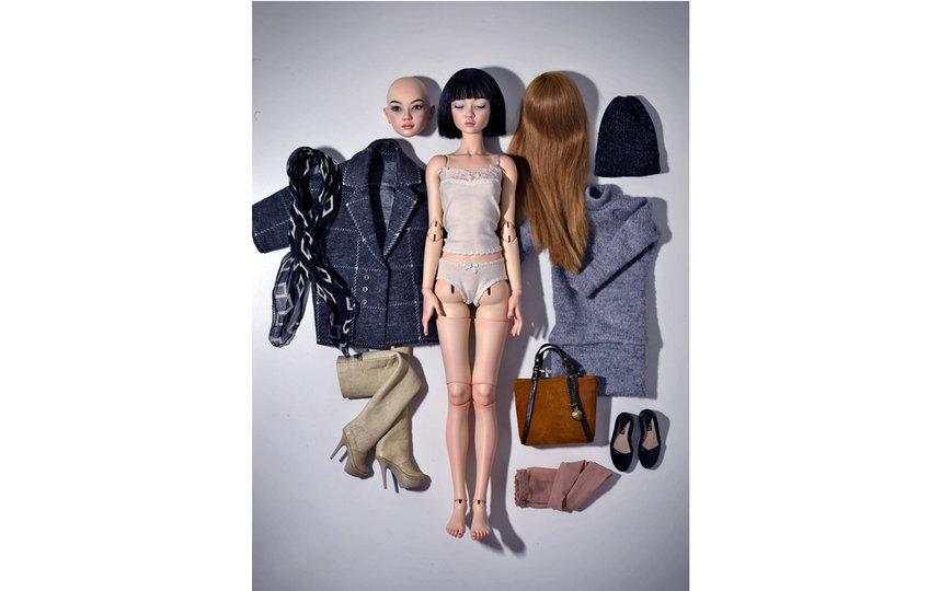 Куклам можно менять лица и причёски. Фото instagram.com@natalialoseva_dolls