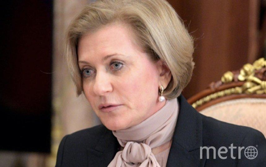 Глава Роспотребнадзора Анна Попова. Фото kremlin.ru.