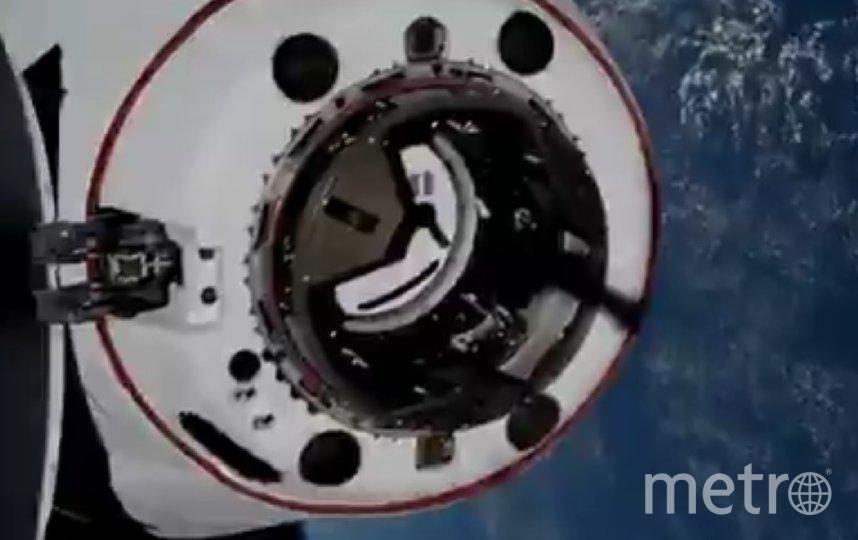 Это второй раз, когда Crew Dragon отправился на МКС. Фото twitter.com/Commercial_Crew.
