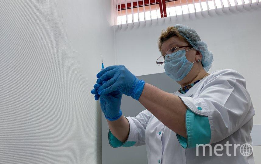 """Вакцинация от коронавируса в Москве идёт полным ходом. Фото АГН """"Москва"""""""