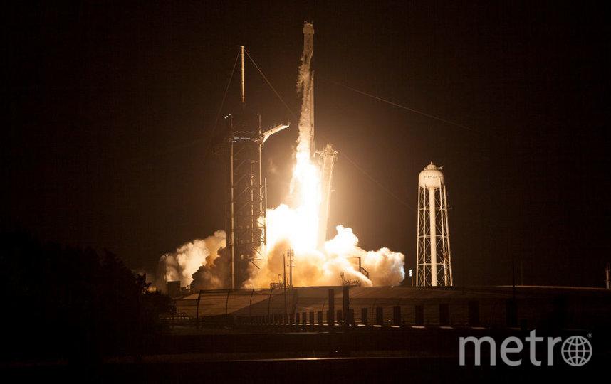 Это второй раз, когда Crew Dragon отправился на МКС. Фото Getty