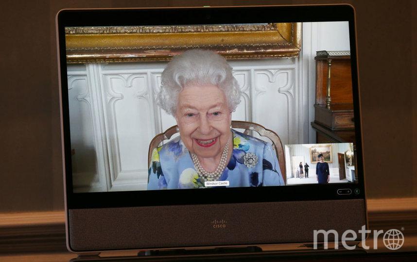 Елизавета II общалась с послами по видеосвязи. Фото Getty