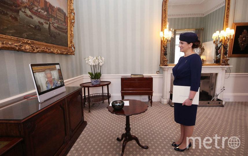 Послы прибыли в Букингемский дворец. Фото Getty