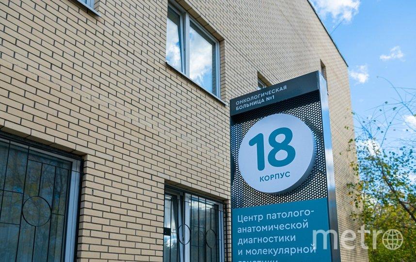 Центр патологоанатомической диагностики и молекулярной генетики городской клинической онкологической больницы №1. Фото Максим Мишин
