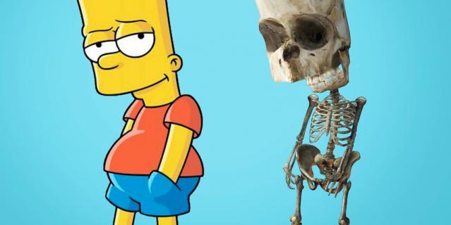 """Барт из """"Симпсонов""""."""