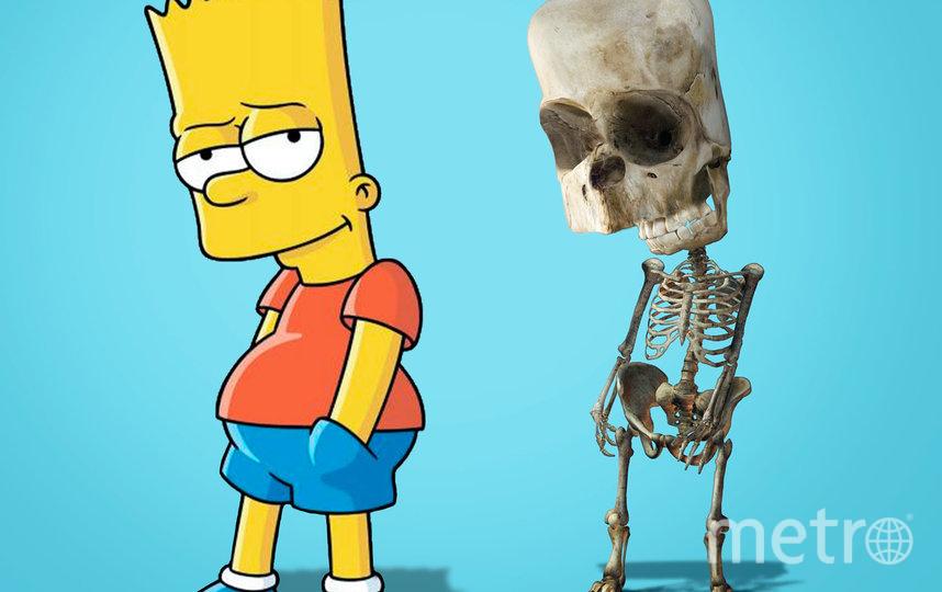 """Барт из """"Симпсонов"""". Фото Луис Роса"""