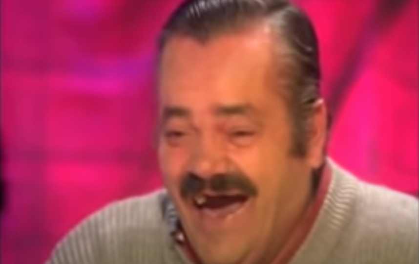 Заразительный смех испанца не мог оставить равнодушным никого. Фото Скриншот YouTube: https://www.youtube.com/watch?v=cDphUib5iG4