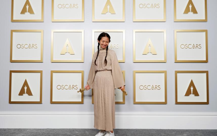 "В Китае отказались писать о победе Хлои Чжао на ""Оскаре"". Фото Getty"
