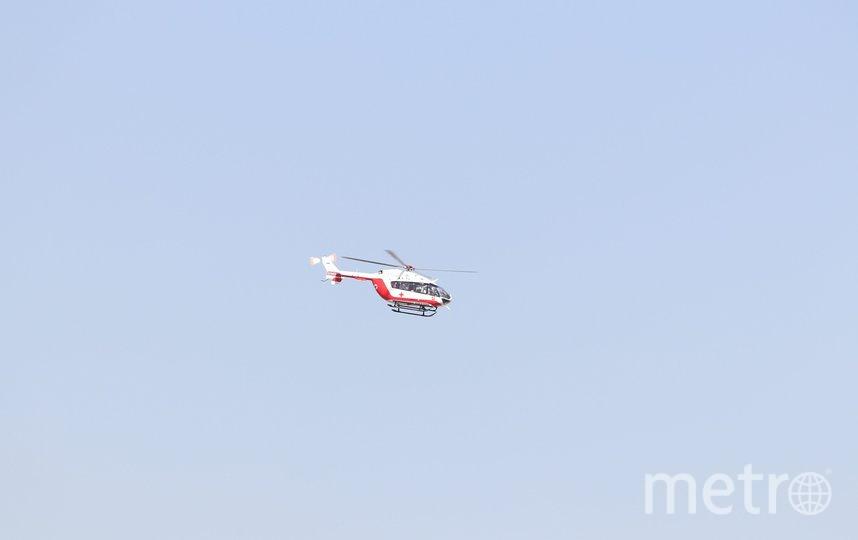В случае необходимости вертолёты будут готовы сбросить 5 тонн воды, чтобы ликвидировать огонь. Фото pixabay.com