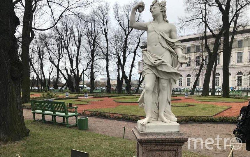 "Статуя Вакх, Италия, нач. XVIII в. Фото ""Metro"""