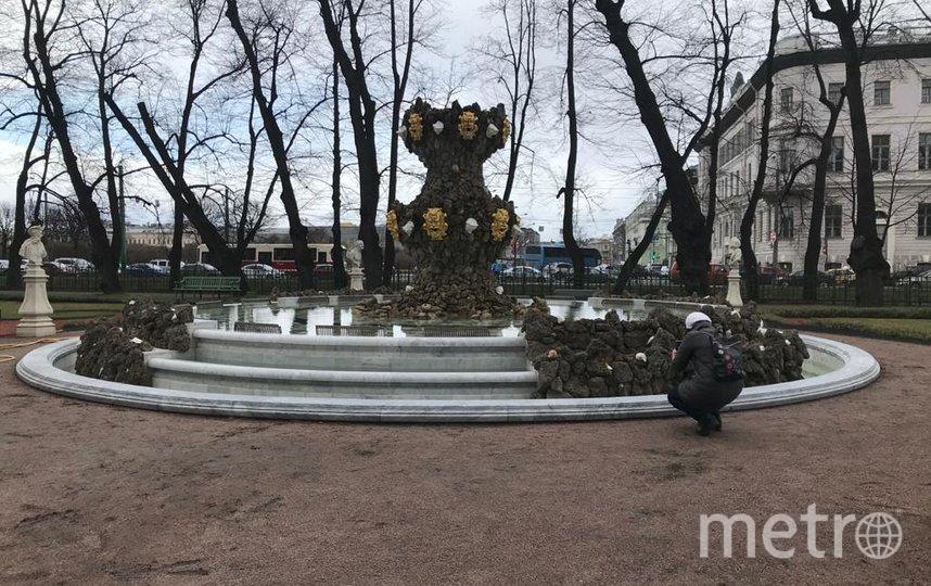 "Фонтан ""Коронный"". Фото ""Metro"""