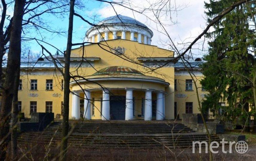 Большой дворец в Шуваловском парке. Фото citywalls.ru.