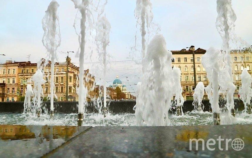 """""""Водоканал"""" включит большинство фонтанов Петербурга. Фото vk.com/vodokanal_spb."""