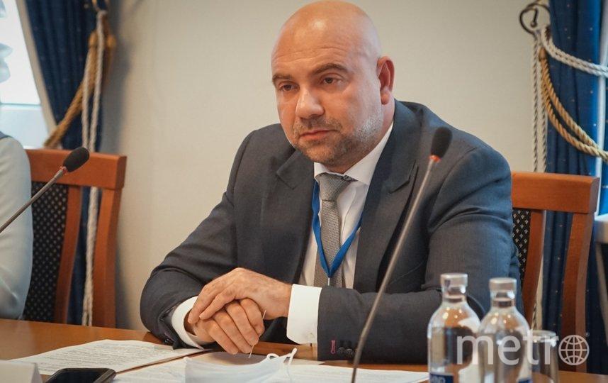 Тележурналист Тимофей Баженов. Фото Максим Манюров