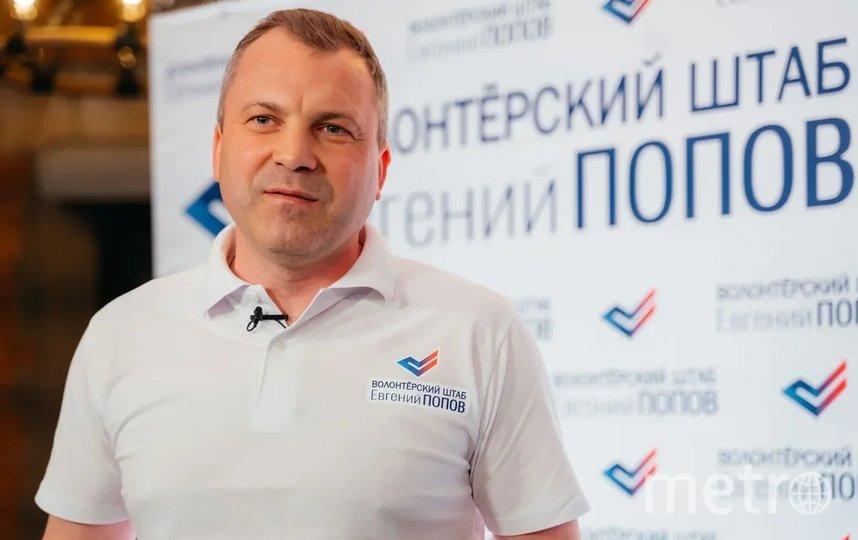 Евгений Попов. Фото Дарья Пыльцына