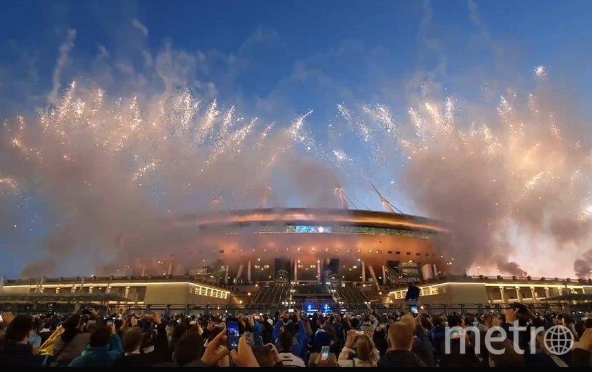 """Матч прошел на """"Газпром Арене"""" 2 мая и завершился со счётом 6:1 в пользу """"Зенита"""". Фото vk.com/andreyzenitspb."""