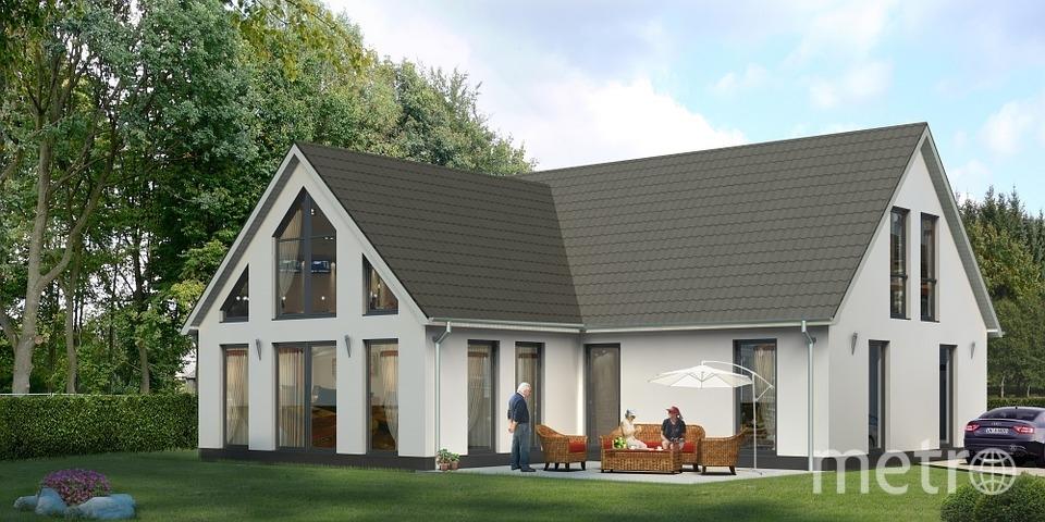 Это первый в Европе дом, полностью построенный с помощью технологий 3D печати. Фото Pixabay