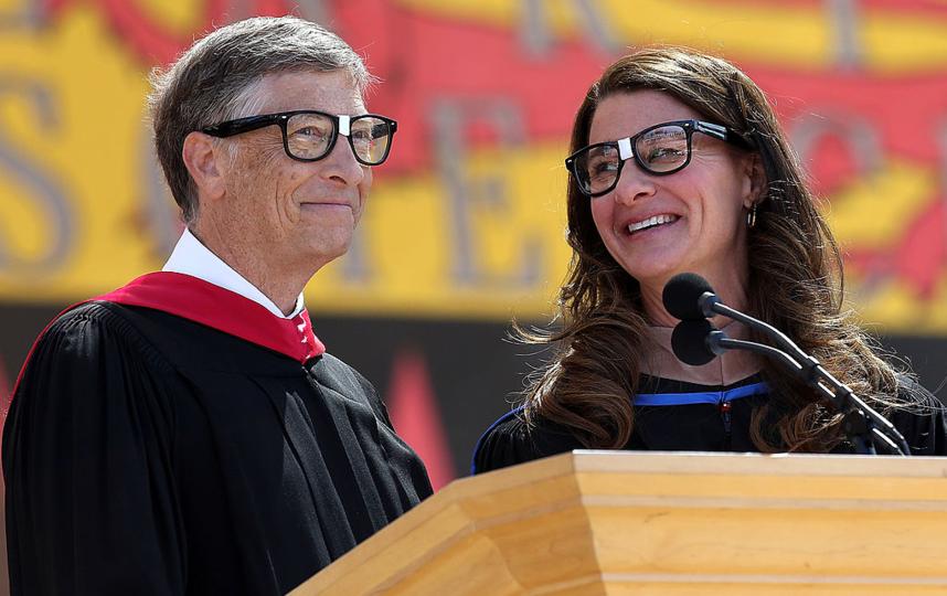Бил Гейтс с супругой Мелиндой. Фото Getty