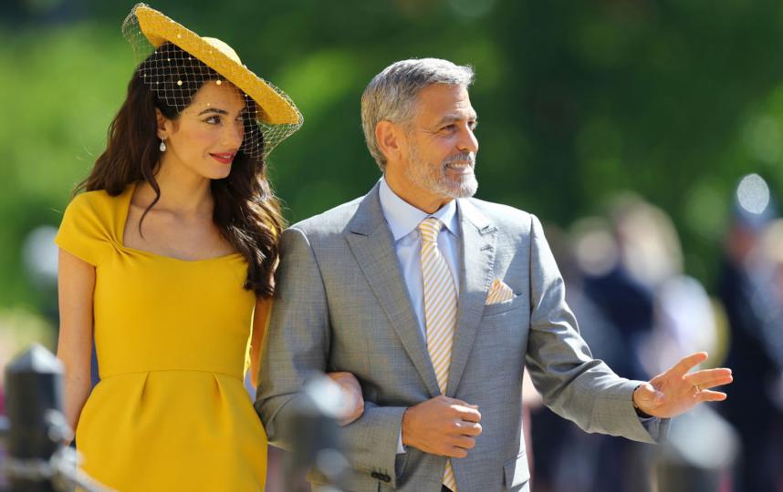 Джордж Клуни с супругой Амаль. Фото Getty