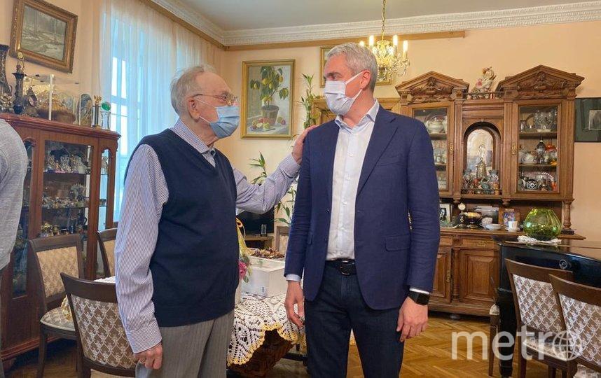 Кириллов (слева) и Нифантьев. Фото Галина Бродская