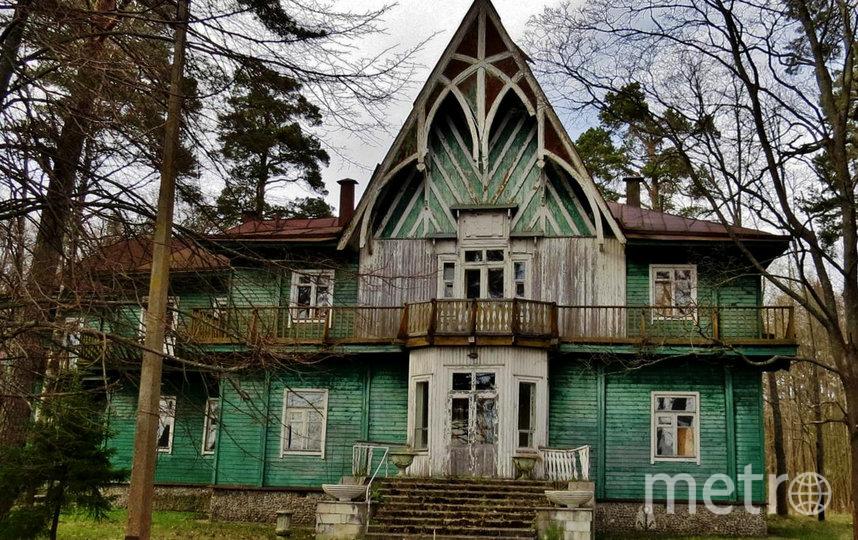 Дача Кинга (деревянная). Фото citywalls.ru.